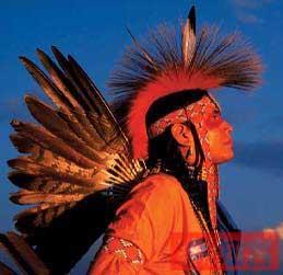 印第安人酋长头像