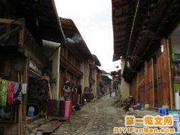 香格里拉古镇图片 香格里拉古镇风景图片