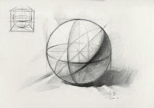 造型规律,看似简单的几何体,包含了太多太深刻的素描知识,所以大...