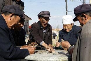 4月27日,在河北蔚县北门子村互助养老