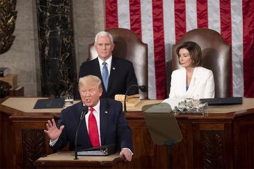 特朗普在国会发表国情咨文