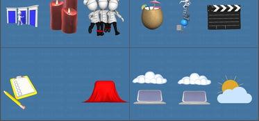 3D小人三维卡通动画GIF图片素材PPT