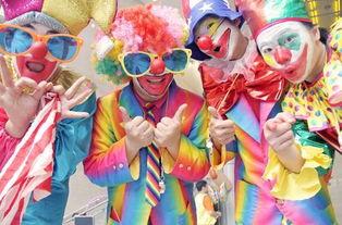 届时魔术小丑将会欢乐巡游这里
