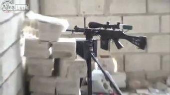 IS废物利用出奇招 断把SVD变身遥控狙击步枪