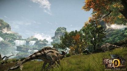 怪物猎人OL 新场景晓暮山林曝光 最大考验的狩猎场