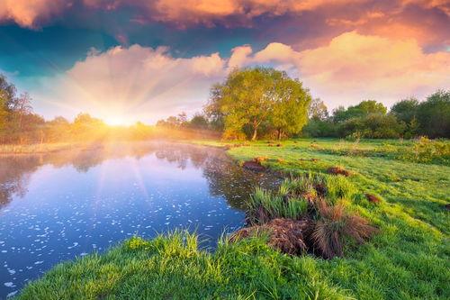 形容美丽的风景的句子