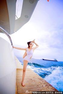 柔术美女玩出新花样 上天入海完爆一字马