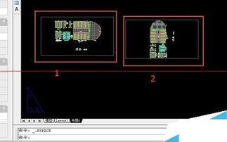 CAD绘图之图纸空间应用