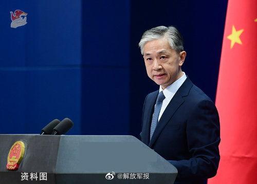 外交部发言人汪文斌(图片来源:外交部网站)