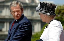 盘点布什当总统以来最搞怪瞬间 6