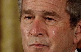 美国总统布什搞怪表情全纪录