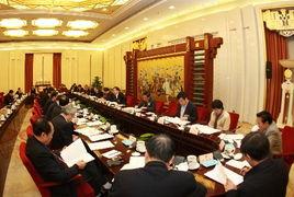 2月27日,十届全国人大常委会第三十二次会议分组审议全国人大常委会工作报告稿.