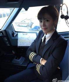 西藏航空女机师颜值秒杀空姐