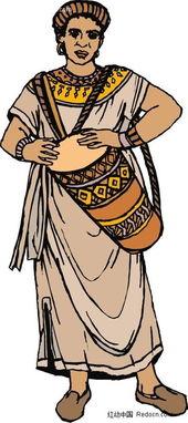 印第安人酋长卡通图片