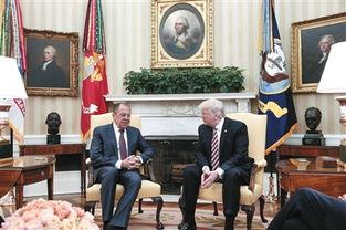 特朗普和俄罗斯外长在白宫会谈