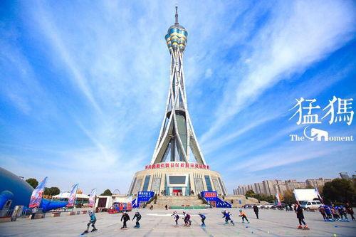 郑州地标之一中原福塔