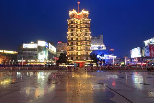 郑州夜景壁纸