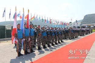 410名赴黎维和官兵荣获联合国 和平荣誉 勋章 组图