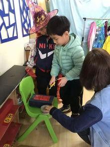 教研活动之 幼儿与角色区游戏材料的互动推进研讨 北京市朝阳区京旺小金星幼儿园