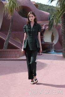 杨子珊-Dior北京秀 听说 会穿 的女星都来了