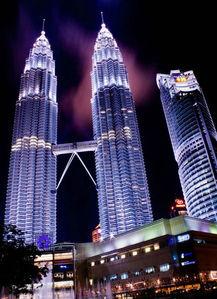马来西亚吉隆坡,双子塔