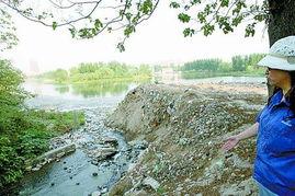 郑州后备水源地西流湖严重污染