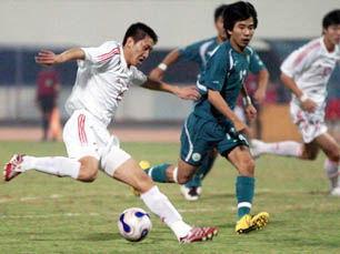 亚青赛预选赛:中国迎战中国澳门