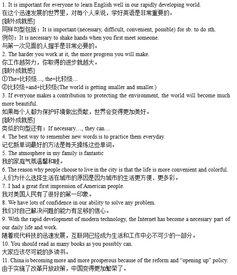 120句高考英语金句