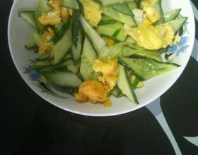 鸡蛋黄瓜花式做法