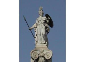 雅典娜神像雕刻 雅典娜石雕刻厂家 图片 曲阳县嘉庆雕刻厂