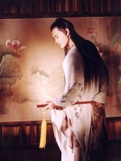 大明宫词的张易之,白衣题诗,白衣作画