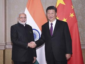 7月26日,习近平总书记在南非约翰内斯堡会见印度总理莫迪.