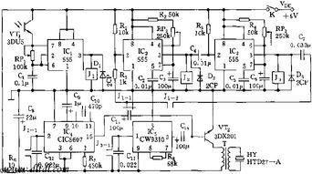 555 生日快乐 电子蜡烛电路图