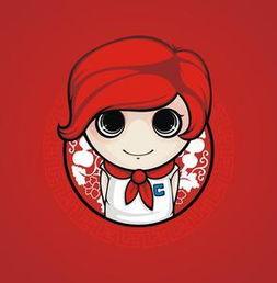 红领巾头像动漫 红领巾头像