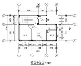 cad室内设计平面图