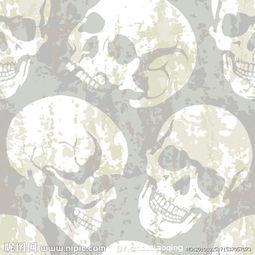 骷髅主题矢量素材图片