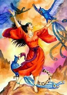 中国历史上古六十个经典神话传说