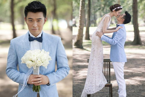 陈赫结婚照