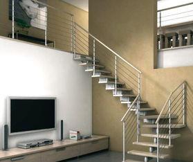 黑白简约房屋楼梯设计图效果图