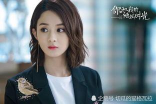 赵丽颖出演《你和我的倾城时光》