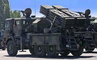 图为土耳其t-122型火箭炮)