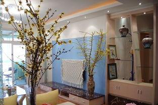 家庭客廳花卉擺放風水