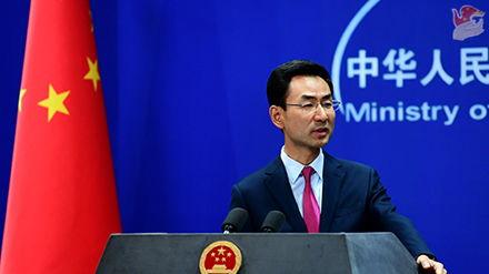 2019年8月22日外交部发言人耿爽主持例行记者会