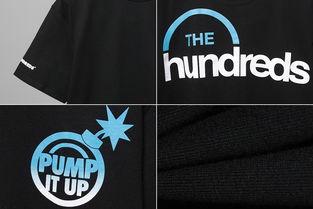 The Hundreds T恤 The Hundreds X Reebok Pump It Up T Shirt正品 YOHO 有货 100 正品保证