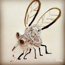生活物品与插画的创意DIY组合