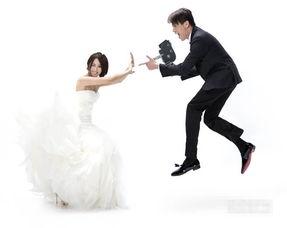 陶喆与老婆江佩蓉婚纱照