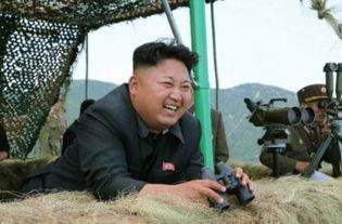 金正恩指导朝鲜部队火炮实弹射击训练 赞官兵 神炮手