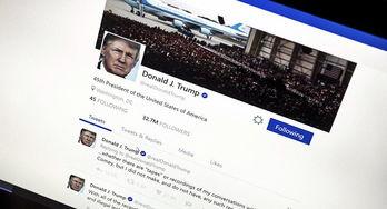 外媒特朗普twitter帐户估值20亿美元