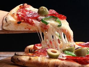 让人馋到流口水的美味披萨
