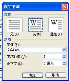 word2003首字下沉怎么设置